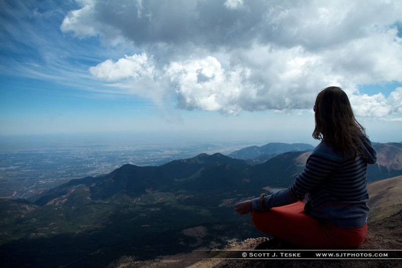 Zen moment with the mountains....jpg