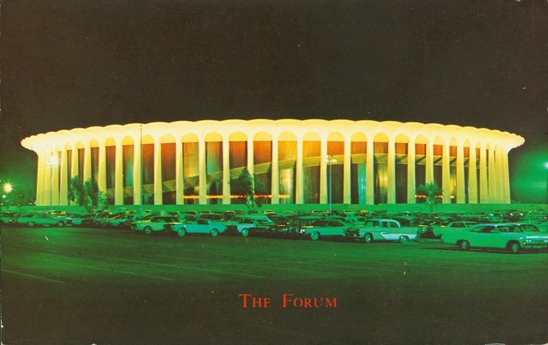 The Forum at Night