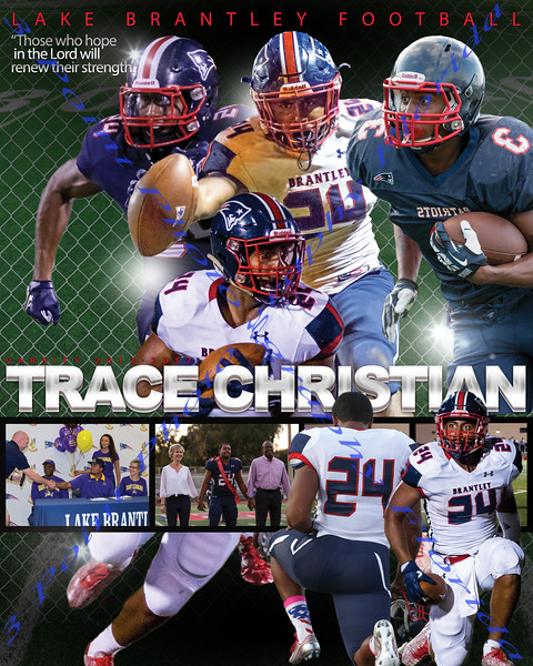 Trace Christian Poster 1