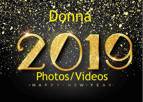 Donna's 2019 Photos/Videos