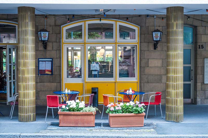 Cafe at Frankfurt, Germany