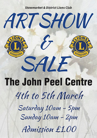 Art Show and Sale March 2017
