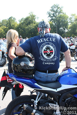 8.20.2011 Ride for a Lost Fireman - Black Mtn., NC