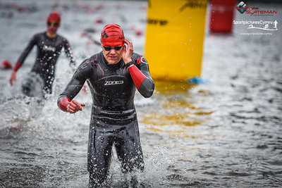 Sportpursuit Slateman Triathlon - Swim Red Hats