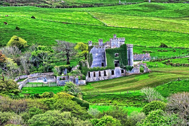 Clifden castle oil.jpg