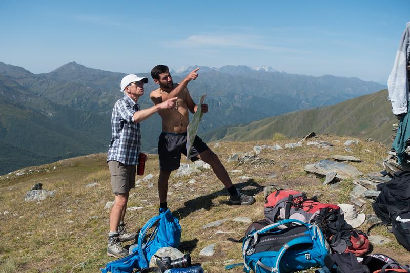Ushguli, Mt Guri