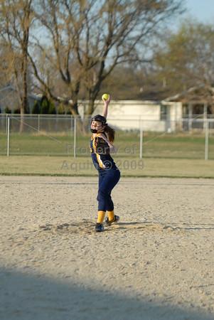 softball at south beloit . 4.16.15
