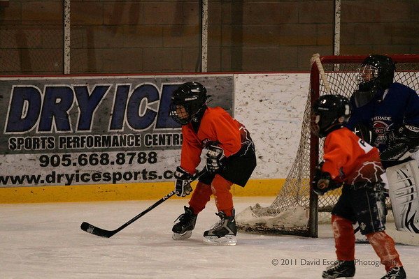 Clarington Thunder Jan. 13, 2011
