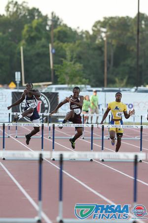 Class 3A - Running Event Finals - Boys 300m Intermediate Hurdles
