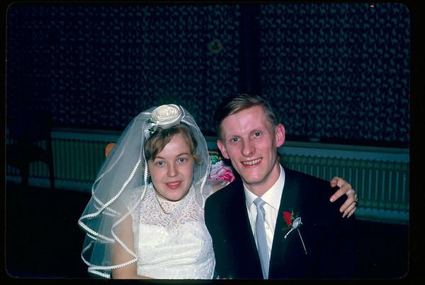 1964 Hochzeit, Hochzeitsreise Ffm, Erfurt - unrestauriert