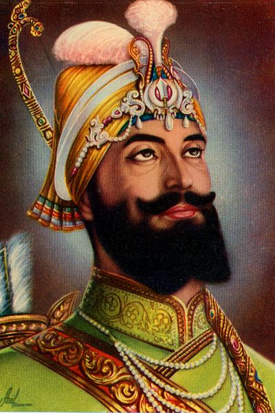 Painting of Guru Gobind Singh