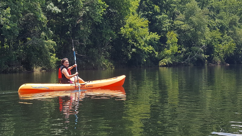 Saluda River - Kayaking - 7-9-2017