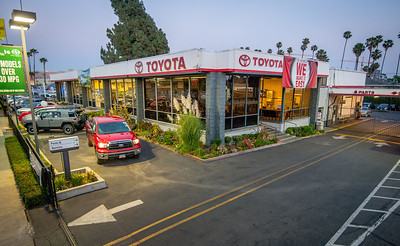 Toyota of Hollywood Exterior dealership photos June 2013