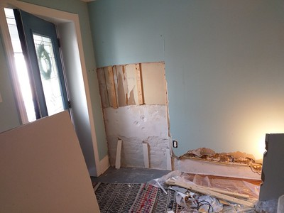Sheetrock repair at: 167 Markle st.{Manayunk}