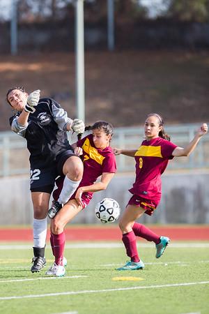 Women's Soccer - PCC vs Glendale 20150922