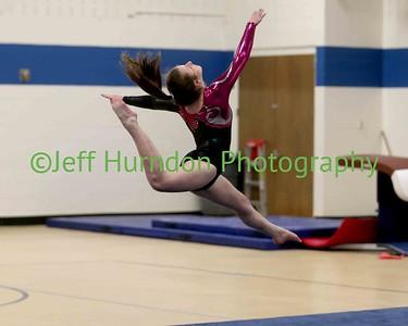 UGHS Gymnastics 2-24-2016