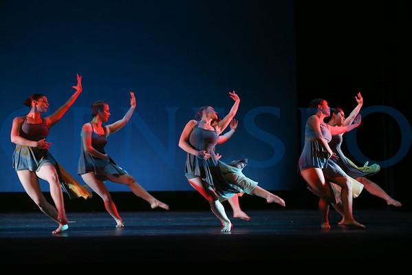 Geneseo Dance Ensemble Dress Rehearsal