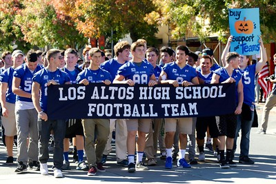 LAHS Homecoming Parade
