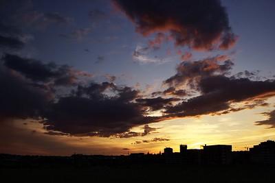 Obloha duben 2015