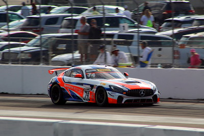 Pirelli World Challenge GTS Sun. Race - St. Petersburg, FL - 11 Mar. '18