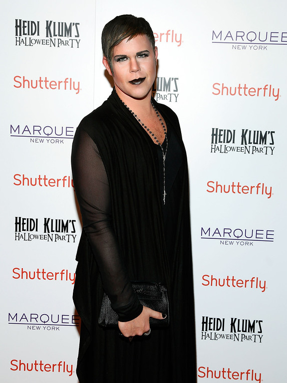 . Photographer Andrew Werner attends Shutterfly Presents Heidi Klum\'s 14th Annual Halloween Party sponsored by SVEDKA Vodka and smartwater at Marquee on October 31, 2013 in New York City.  (Photo by Cindy Ord/Getty Images for Heidi Klum)