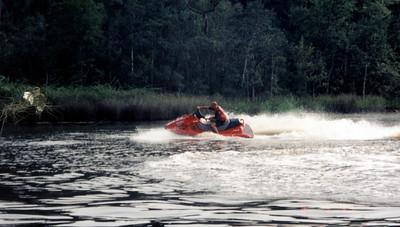 Jet-Skiing (water biking)