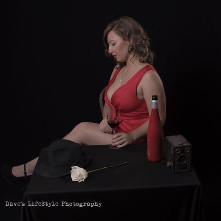 Teryn - red dress