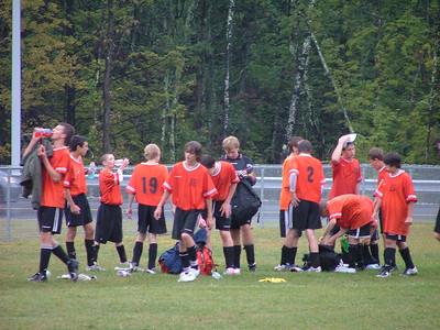 Keene Boys Freshman Soccer 2007