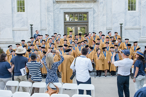 Emory Commencement   5.14.2018   Candler Library and Quad