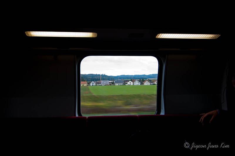 Switzerland train view