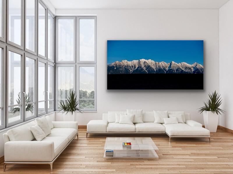 'Blue Bird' Canvas Wrap