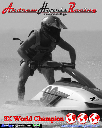 Andrew Harris 3X World Champion moving to Expert for 08 is Novice Ski, 2007 APBA Rider of the year