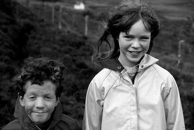 Hebridean Faces Shaped by the Landscape