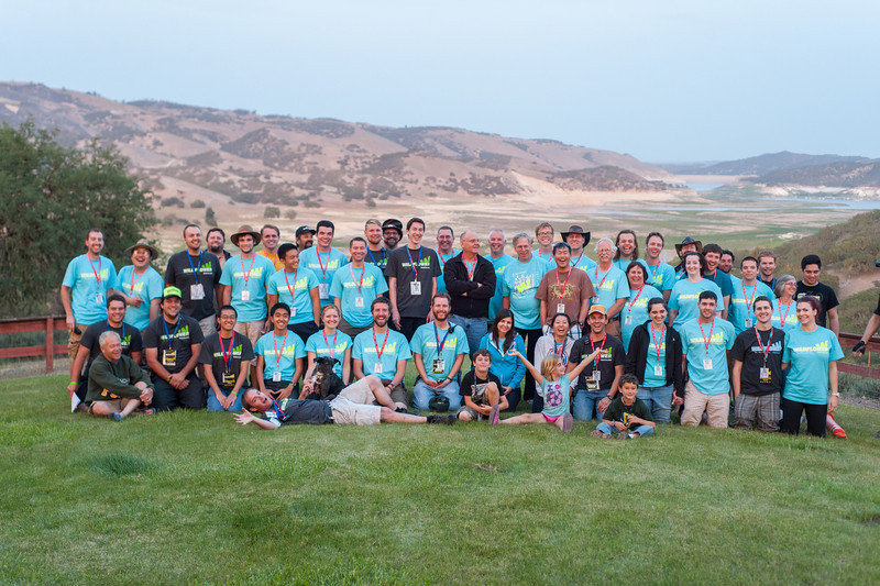The Cal Poly Amateur Radio Club provides support at Wildflower 2014. May. 2014. Photo by Ian Billings
