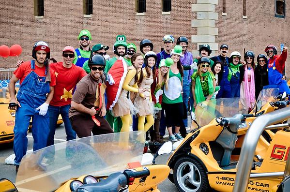 Event: Matt's 26th - Mario Karting SF