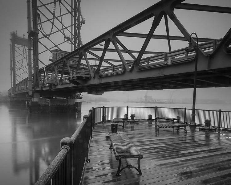 Foggy Morning under the bridge