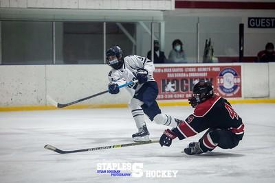 Staples Varsity Boys Hockey vs. Masuk - February 27, 2021