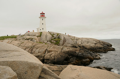 Day 6,   Peggy's Cove NS,   June 16