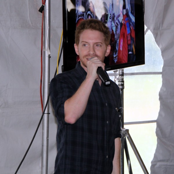 Actor and space enthusiast Seth Green (@SethGreen) introduces and debuts Fanfare for STS-135, a theme for the mission created by noted science fiction composer Bear McCreary