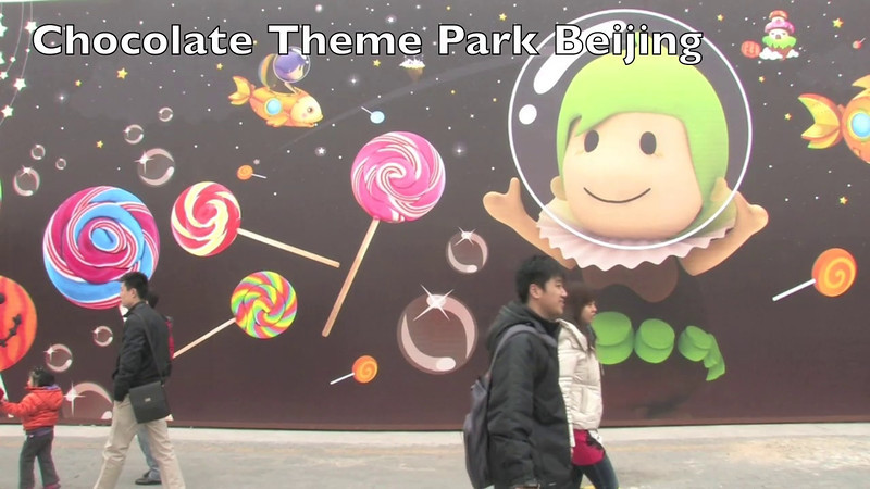 Chocolate Theme Park Beijing ©Lewis Sandler Beijing Video Studio