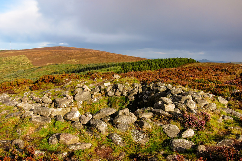 Cairn on Tibradden Mountain