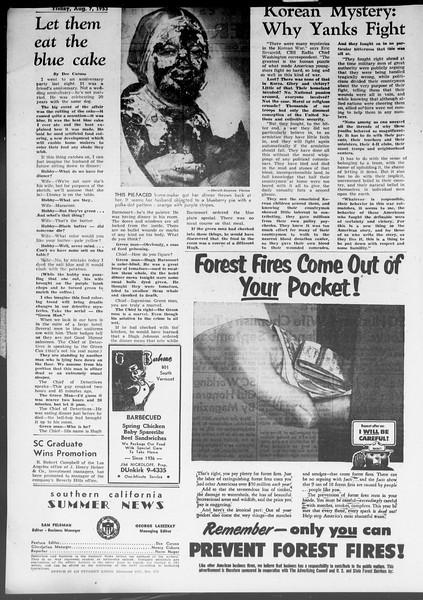 Summer News, Vol. 8, No. 14, August 07, 1953