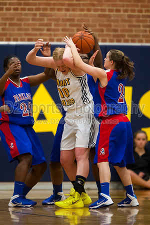 Mt Tabor Spartans vs Parkland Mustangs Women's Varsity Basketball 2/19/2014