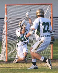 Nease Boys' Lacrosse vs Ponte Vedra District Championship 4-9-09