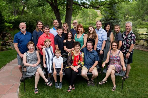 Kathy's Birthday/family shoot