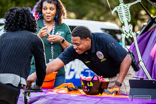 Savannah Police Department - Pumpkin Painting 2019