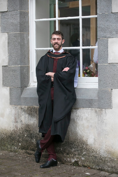 31/10/2018. Waterford Institute of Technology (WIT) Conferring Ceremonies 2018. Pictured is Shane Phillips Galway. Picture: Patrick Browne