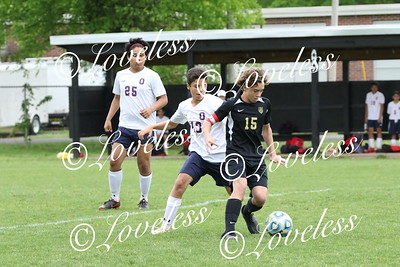 Boys Soccer vs Central Magnet 4/25/19