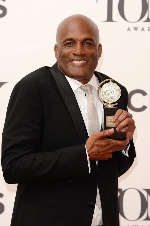 . Director Kenny Leon poses in the press room during the 68th Annual Tony Awards on June 8, 2014 in New York City.  (Photo by Andrew H. Walker/Getty Images for Tony Awards Productions)