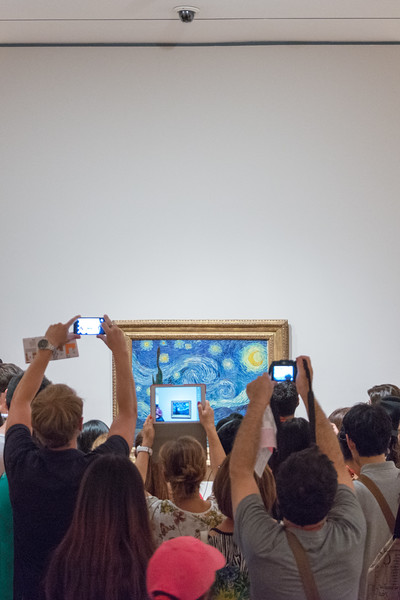 Starry Night: The Trophy - MOMA, New York, NY, USA - August 21, 2015